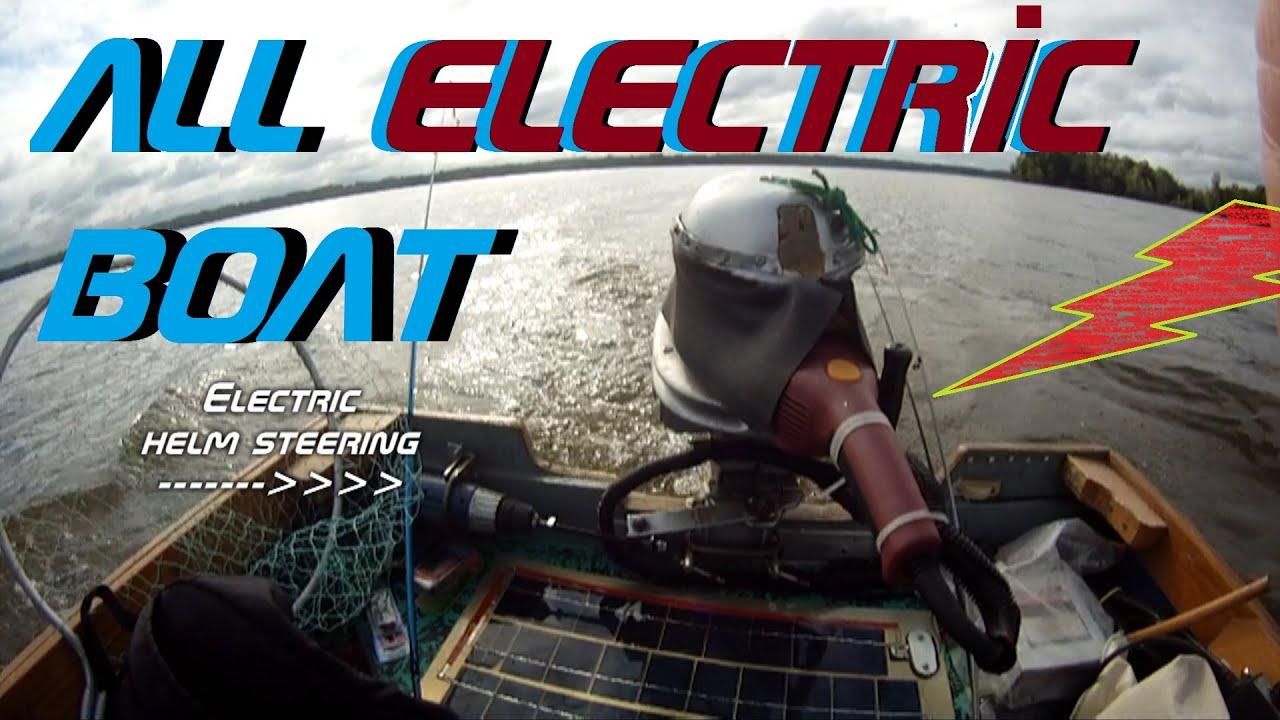 Worlds COOLEST 200 lb THRUST Trolling Motor ~ 4 5 hp Homemade super power  and bass fishing!