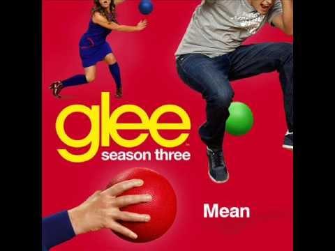 Glee Cast - Mean (karaoke version)