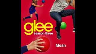 Glee Cast - Mean (karaoke version)