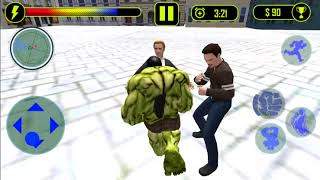 Superhero City Battle Monster Fighting | Level 5 | Hulk Game