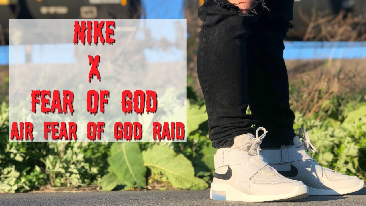 HONEST REVIEW OF THE NIKE X FEAR OF GOD