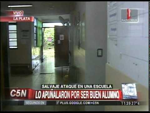 C5N -  POLICIALES: TRES CHICOS APUÑALARON A OTRO EN LA PLATA2