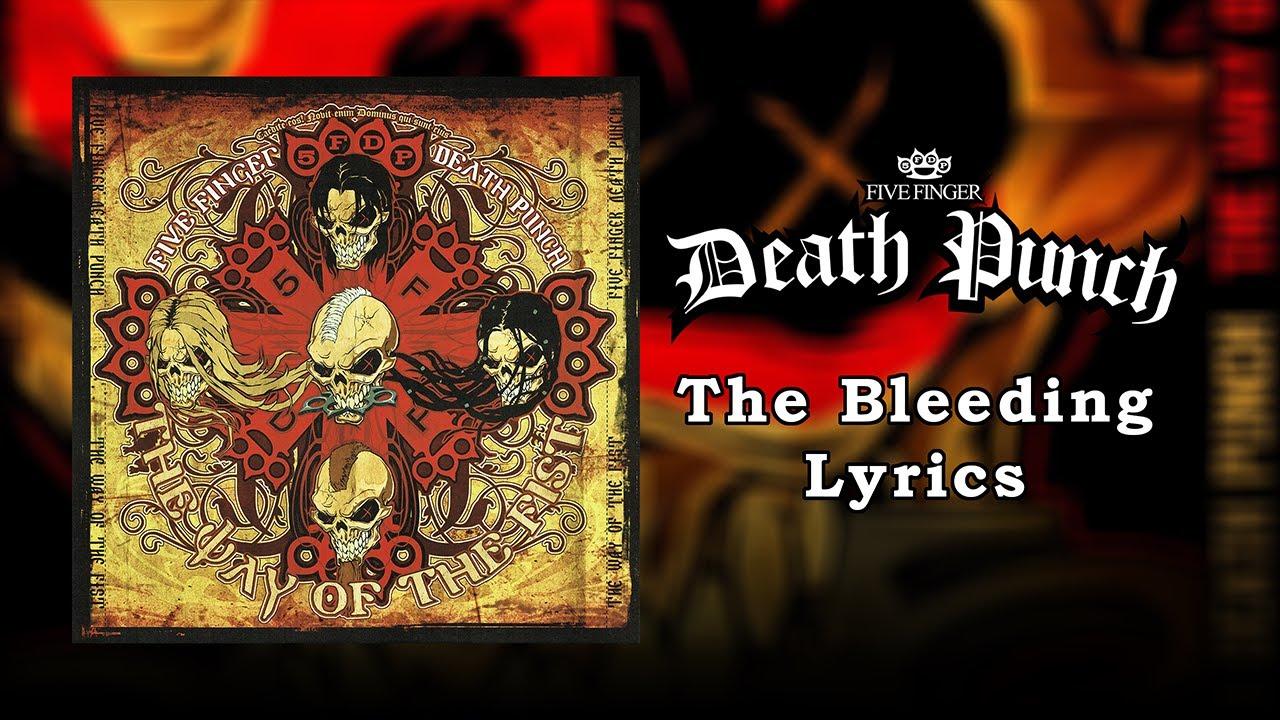 Download Five Finger Death Punch - The Bleeding (Lyrics Video) (HQ)