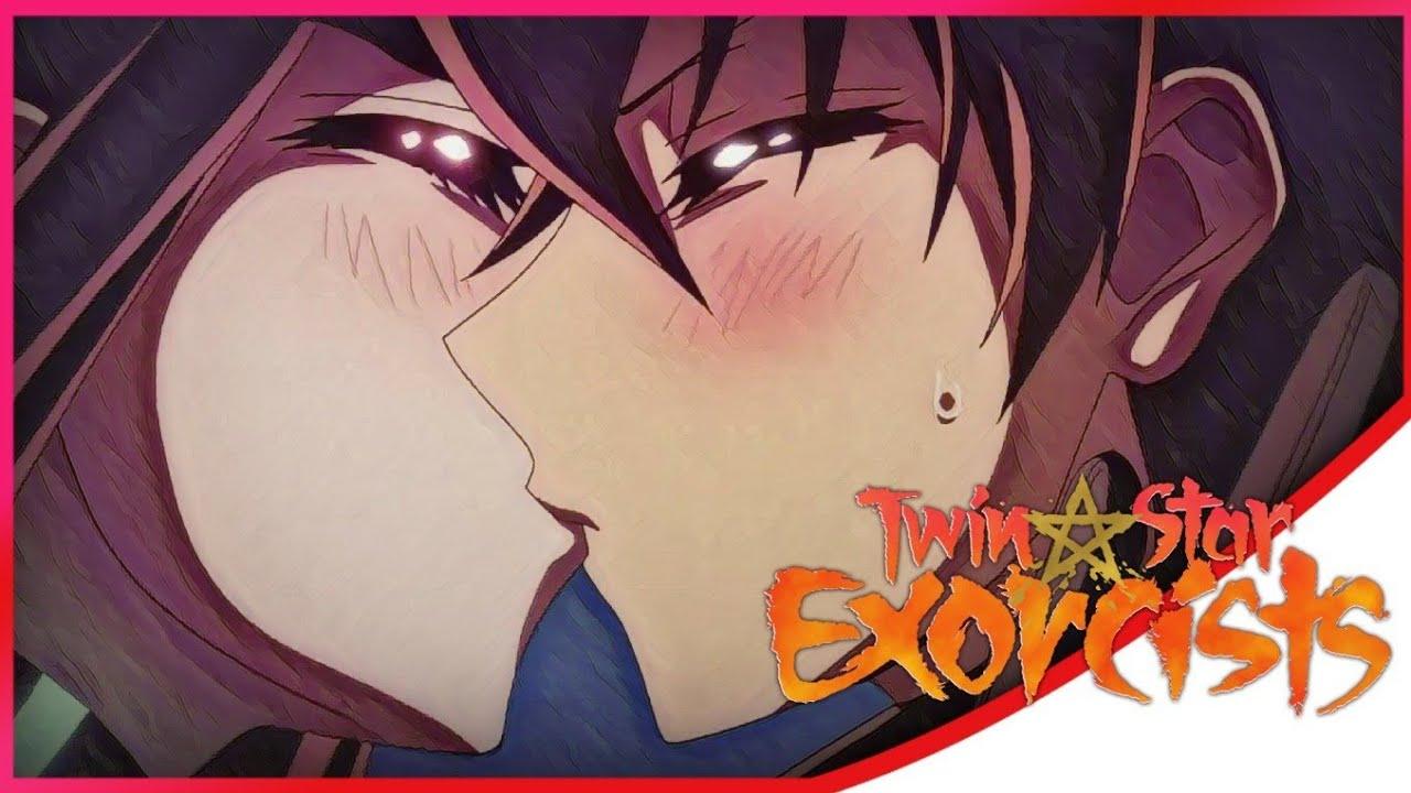 Download Rokuro X Benio Kiss Scene Twin Star Exocrists Sosei no Onmyoji English Sub