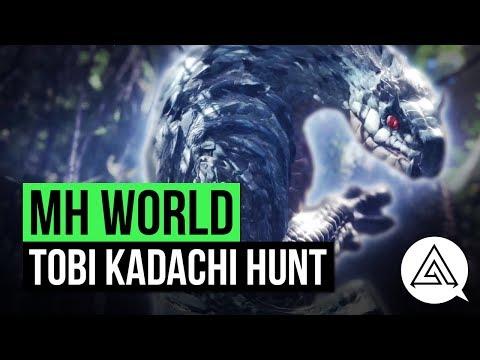 Monster Hunter World | New Monster 'Tobi Kadachi' Gameplay
