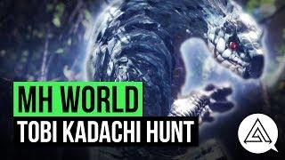 Monster Hunter World   New Monster 'Tobi Kadachi' Gameplay