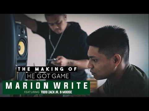The Making Of: He Got Game - Marion Write ft. Todd Zack Jr. & Moose