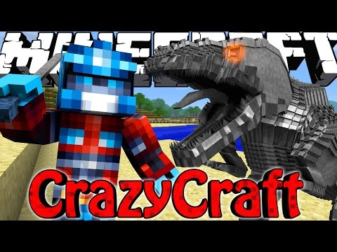 "Minecraft | Crazy Craft 3.0 - Ep 15! ""TRANSFORMER TAKE OVER!"""