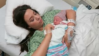 Labor and Delivery Vlog! Welcome Annabelle Rose Johnson! | Hayley Paige Vlogs