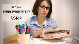 TEMPTATION ISLAND: I CASTING! ASMR Roleplay 25 MIN!!!