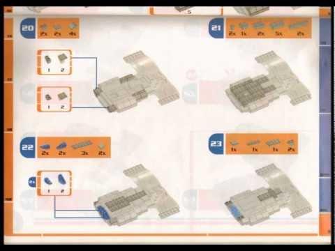Uss Enterprise Ncc 1701 D Mega Bloks Instruction Manual Youtube