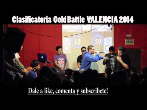 MR. EGO VS SIMON Cuartos GOLD BATTLE VALENCIA 201