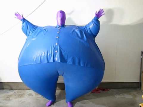 Inflatable Blueberry Suit Youtube