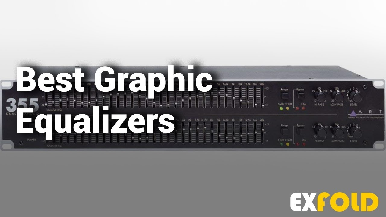 Best Graphic Equalizers: Complete List with Features & Details - 2019
