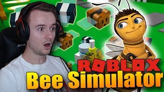 BYL JSEM VYSTŘELEN PRAKEM!! | ROBLOX: Bee Simulator #4
