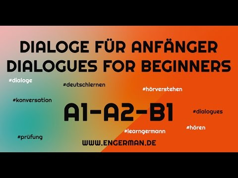 Dialogues for Beginners | Dialoge für Anfänger