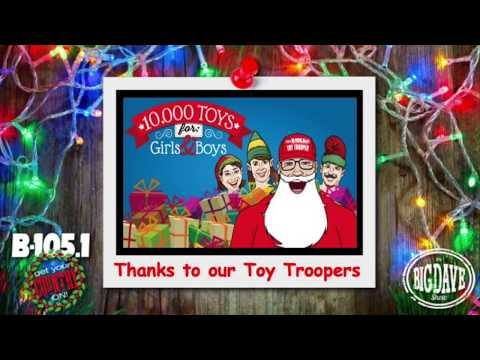 The 2019 Big Dave Show Toy Troopers!