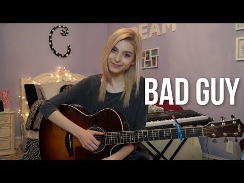 """bad guy"" Billie Eilish Acoustic Cover | Caroline Dare"