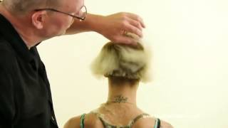 Miley Cyrus Extreme Haircut www.ShortHaircutGirls.com Bald Fade Haircut