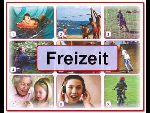 У31. Freizeit.  В свободное время. Интерактивный немецкий для начинающих 5(1)