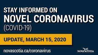 COVID-19: March 15 update from Dr.  Robert Strang