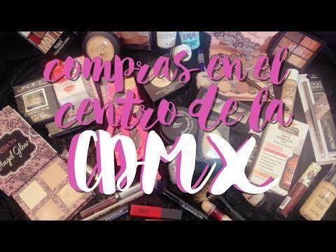 Compras en el centro de la CDMX