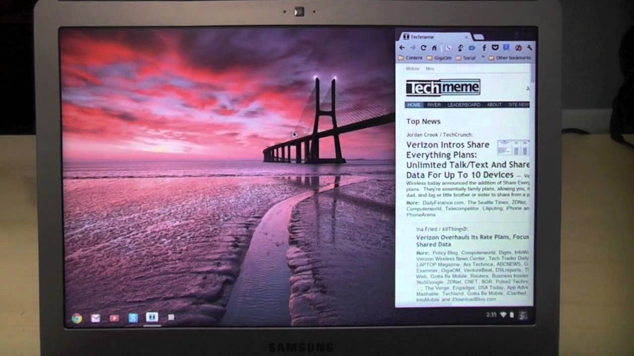 My iMac and ChromeBook just hooked up  And I like it! – Gigaom