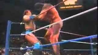 Giant Gonzalez vs Tatanka