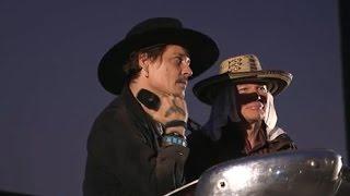 Johnny Depp sparks outrage with Trump joke