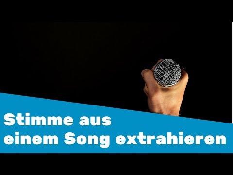 Stimme aus Song extrahieren ( für Remix etc.)    28 Tipps in 30 Tagen