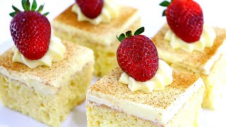 BEST TRES LECHES CAKE RECIPE │ 3 MILK MEXICAN CAKE │ CAKE RECIPES │ CAKES BY MK