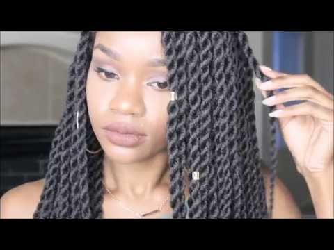 Rope Box Braids PROTECTIVE STYLING!!! | Sensationnel Senegal Rope Braids | Twingodesses