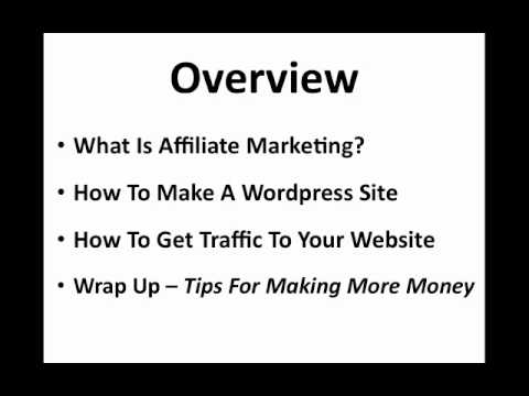 How To Make Fast Money With Affiliate Marketing thumbnail