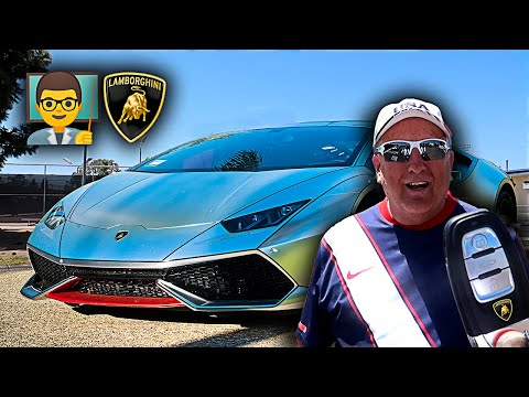 I Let my High School Teacher DRIVE MY LAMBORGHINI & this happened...