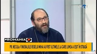 Părintele Constantin Necula, în ediţia specială de Crăciun #România9 - prima parte (@TVR1)