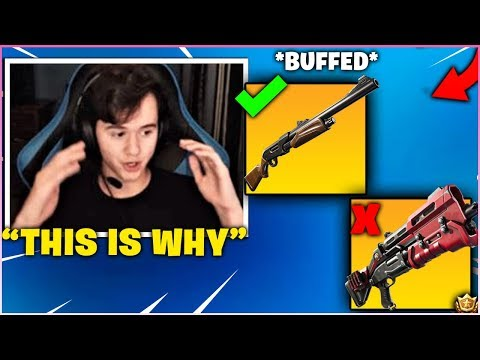BUGHA Explains & Shows WHY The PUMP SHOTGUN Is Better Than The TAC SHOTGUN! *BUFFED*