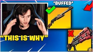 BUGHA Explains & Shows WHY The PUMP SHOTGUN Is Better Than The TAC SHOTGUN! *BUFFED*