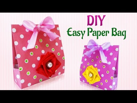 Craft Ideas How To Make Diy Handmade Paper Gift Bag Diy Paper