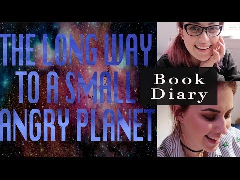 THE LONG WAY TO A SMALL ANGRY PLANET BOOK DIARY Vlog | Book Roast
