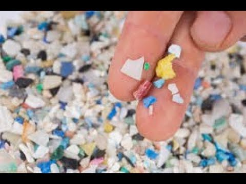 Removing micro plastics from water