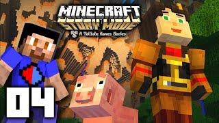 Minecraft: STORY MODE Episode 4 Part 2 - A Block and a Hard Place