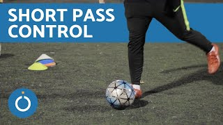 How to Control a Short Pass in Football