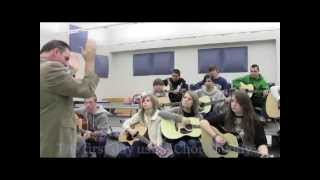 ChordBuddy visits music class at Enterprise High school in Alabama Mp3