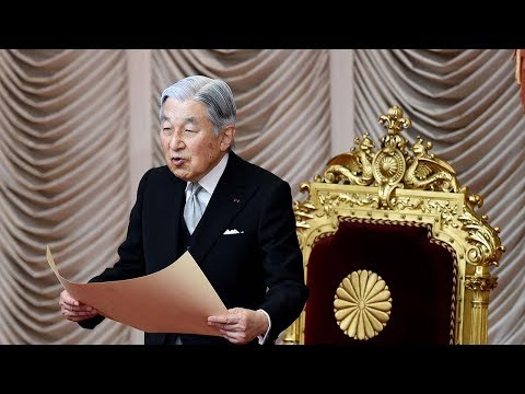 Japan's lower house approves Emperor Akihito
