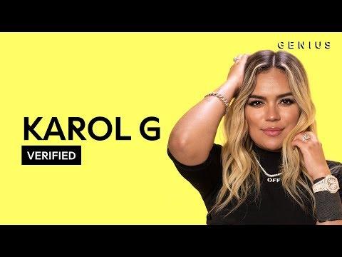 """Karol G """"Punto G"""" Letra Oficial Y Significado   Verified"""
