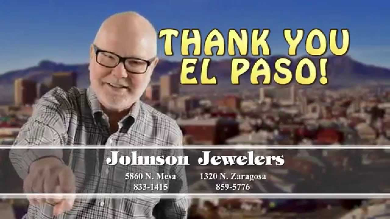 Johnson Jewelers El Paso is My Town YouTube