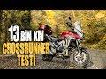 Honda Crossrunner 13 bin km Yol Testi...