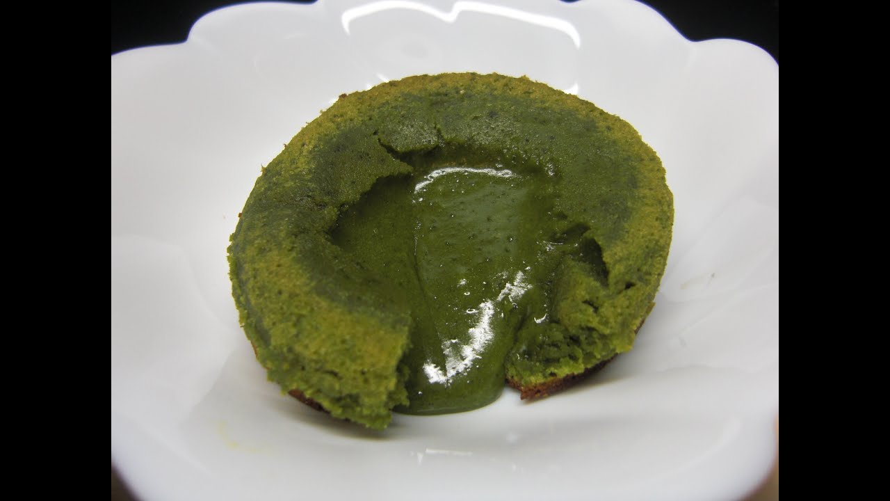Chocolate Green Tea Lava Cake