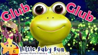 Canciones Infantiles | Cinco Ranitas | P. 2 | Dibujos Animados | Little Baby Bum en Español