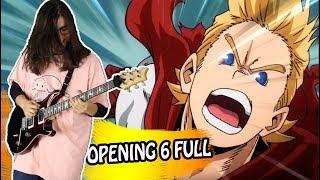 MY HERO ACADEMIA (Season 4) - Opening 6 FULL / Polaris - Blue Encount (Guitar Cover)
